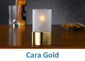 Lampki dekoracyjne Heliotron: model Cara Gold - szczegóły