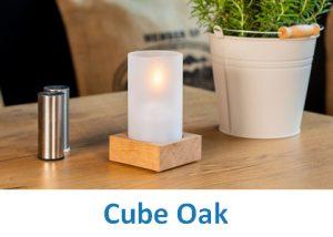 Lampki dekoracyjne Heliotron: model Cube Oak - szczegóły