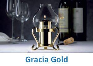 Lampki dekoracyjne Heliotron: model Gracia Gold - szczegóły