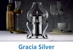 Lampki dekoracyjne Heliotron: model Gracia Silver - szczegóły