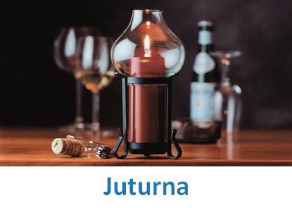Lampki dekoracyjne Heliotron: model Juturna - szczegóły