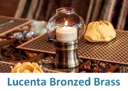Lampki dekoracyjne Heliotron: model Lucenta Bronzed Brass - szczegóły