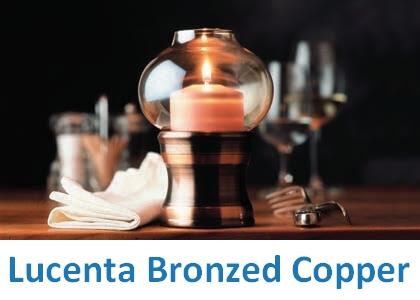 Lampki dekoracyjne Heliotron: model Lucenta Bronzed Copper - szczegóły
