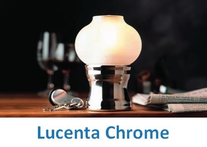 Lampki dekoracyjne Heliotron: model Lucenta Chrome - szczegóły