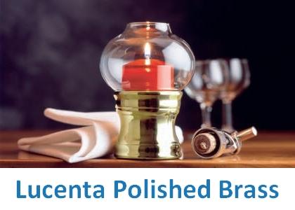 Lampki dekoracyjne Heliotron: model Lucenta Polished Brass - szczegóły