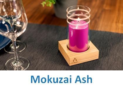 Lampki dekoracyjne Heliotron: model Mokuzai Ash - szczegóły