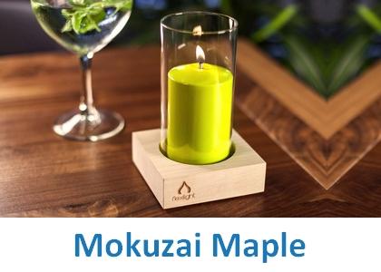 Lampki dekoracyjne Heliotron: model Mokuzai Maple - szczegóły
