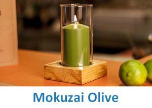 Lampki dekoracyjne Heliotron: model Mokuzai Olive - szczegóły