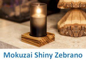 Heliotron Mokuzai Shiny Zebrano