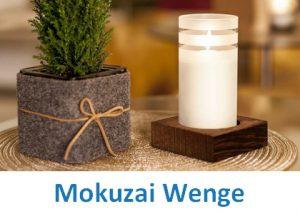 Lampki dekoracyjne Heliotron: model Mokuzai Wenge - szczegóły