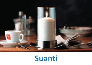 Lampki dekoracyjne Heliotron: model Suanti - szczegóły