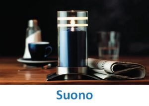 Lampki dekoracyjne Heliotron: model Suono - szczegóły