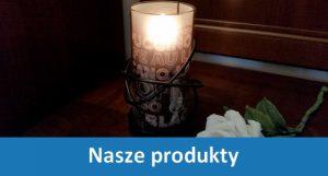 Lampki i świece dekoracyjne na płynny wosk - nasze produkty