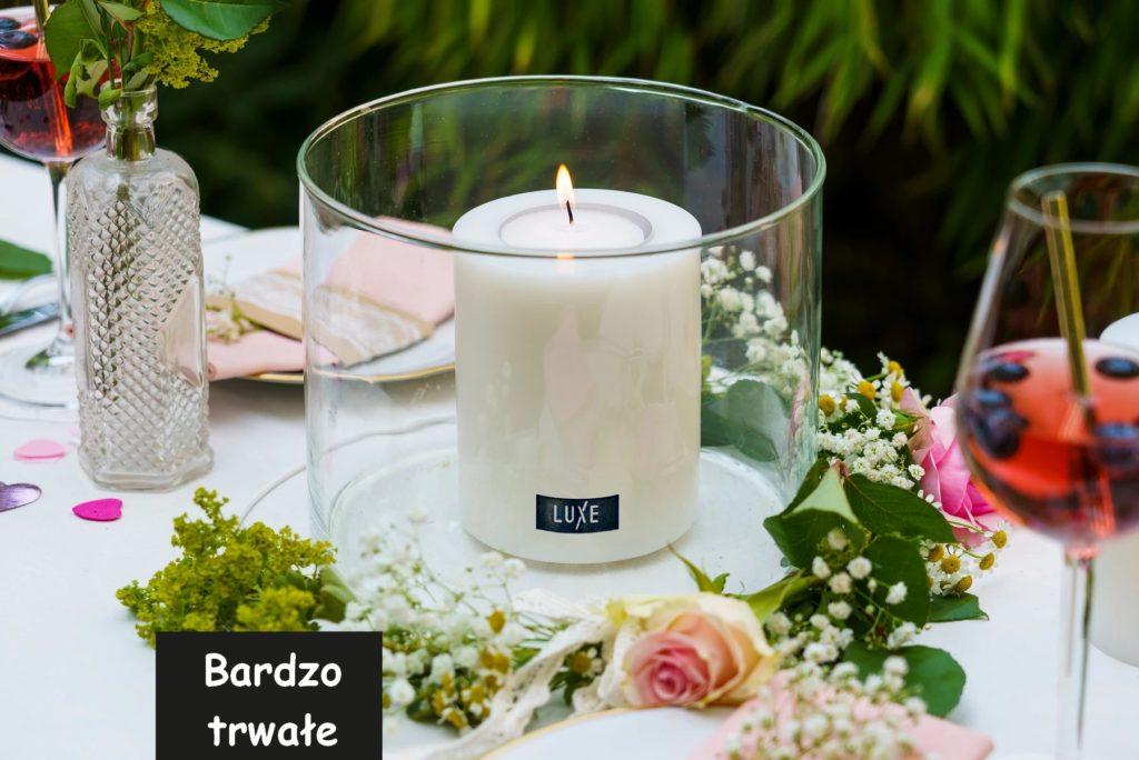świeca używana do dekoracji ogrodu, świece na balkon